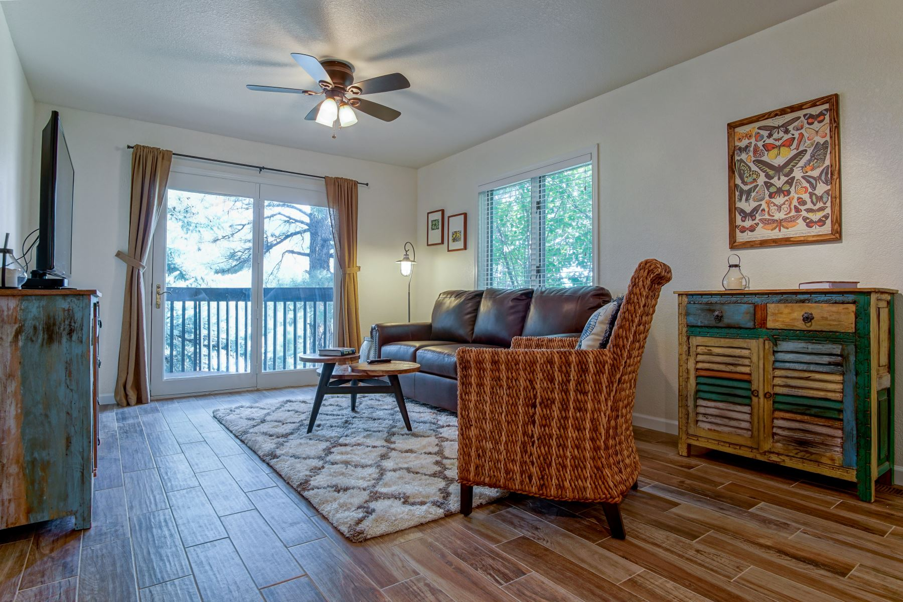 Floor Plan for  Utterly Trendy, Updated, Charming Country Club Condo w/ Golf Course & Mt Views